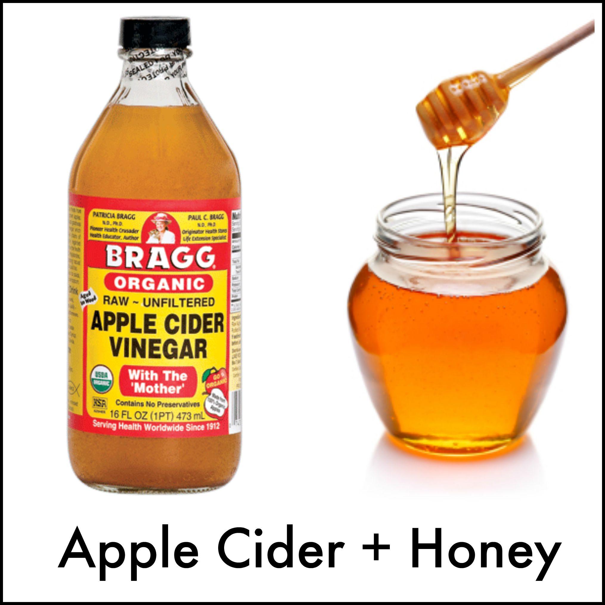 Honey Apple Cider Vinegar Drink - Luveena Lee