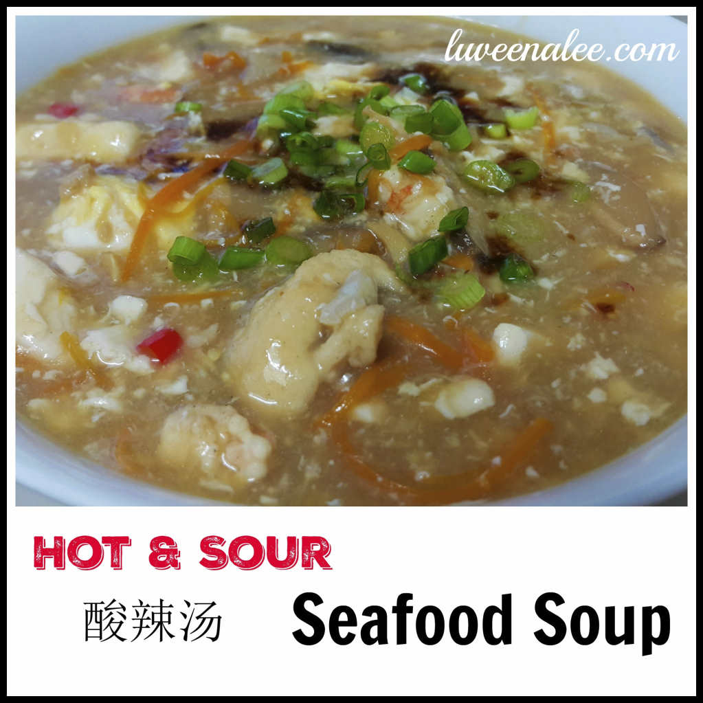 Hot & spicy seafood soup