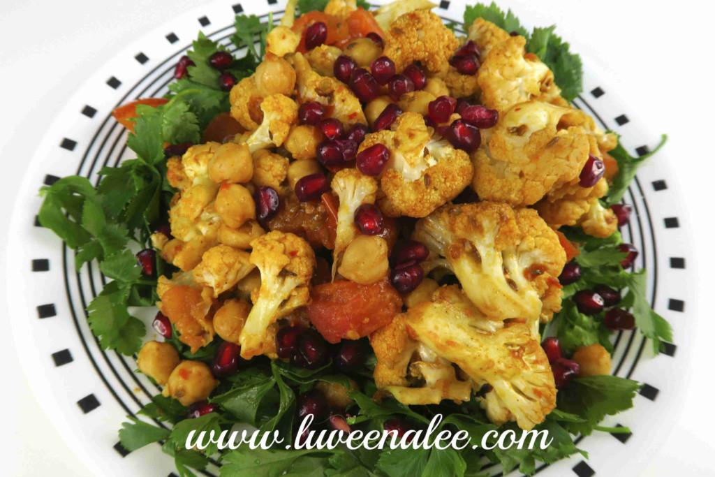chickpeas and spiced cauliflower 4