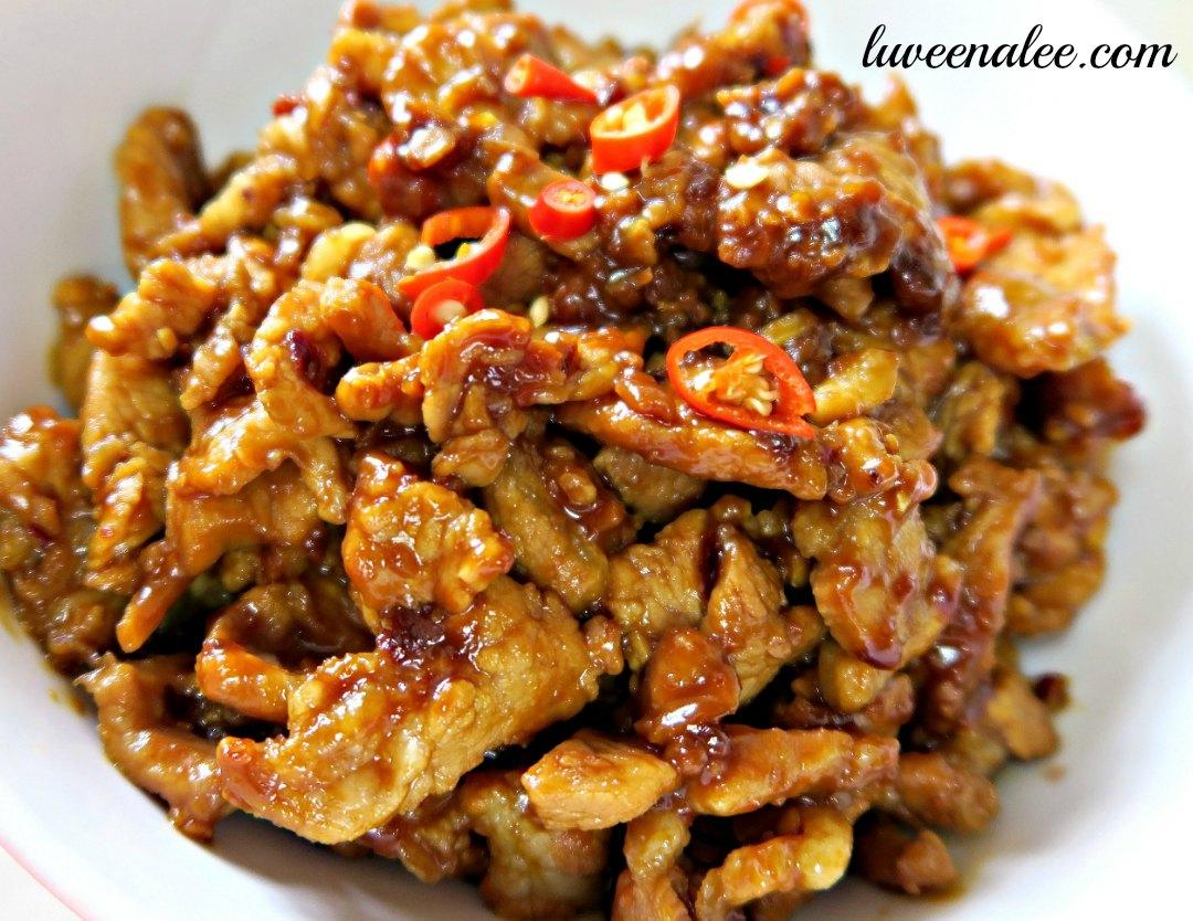 Stir Fry Pork With Taucheo | Stir Fried Pork With Salted