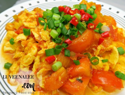 Stir-fried Tomato And Scrambled Eggs| Chinese Tomatoes And Eggs| 蕃茄炒蛋- Super Easy Recipe!